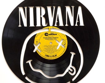 Nirvana Vinyl Record Art