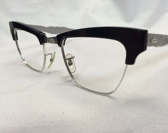 True Vintage NOS Frames Eyeglasses Combination B&L Chassis is GF #VE19