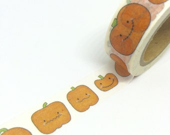 Cute Pumpkins Washi Tape 15mm x 10m