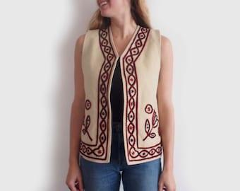SALE vintage southwestern wool vest