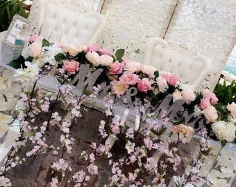 Head Table Decor Wedding Arch Chuppah Silk Flower