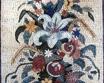 Mosaic Designs - Oriental Lily