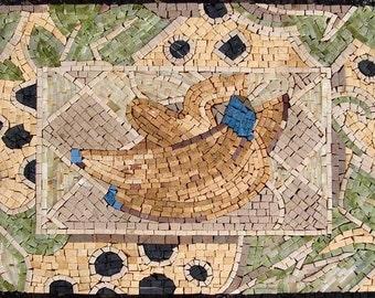 Mosaic Designs- Banana Peel