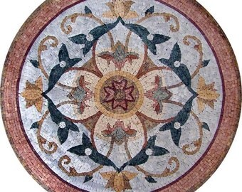 Floral Mosaic Rondure - Kiera