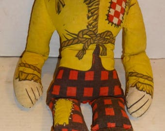 1965 Corn Chex Cereal - Scarecrow Doll