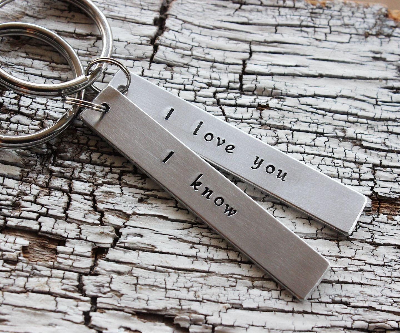 boyfriend keychains couple keychains personalized keychains couple