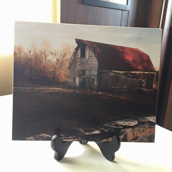 8 x 10 Wooden Stockwell Barn Image