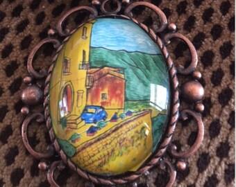 Strada di Artisti necklace (#11)