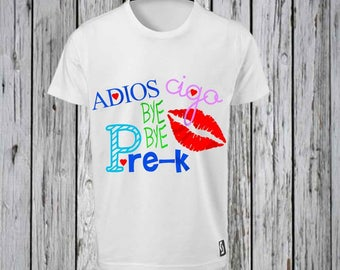 Last Day of School of school Bye Shirt  Iron Tshirt Design FILE ONLY!!- Autograph Shirt-End of the year Shirt- Bye to school in languages