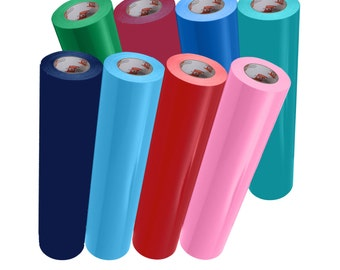 """Oracal 631 12"""" x 10ft. Roll Adhesive Backed Vinyl - Different Colors"""