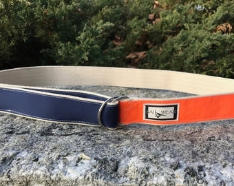 Size Large - Windsurfing Sail D Ring Belt - Free Shipping