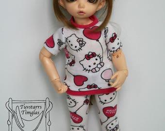 Littlefee yosd Hello Kitty pajamas set