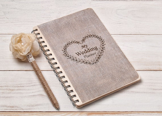 Wedding Planner Book Bride Notebook Organizer