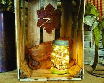 Rustic Crate Clock