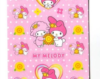 My Melody Sanrio Small Set Stickers Sheets