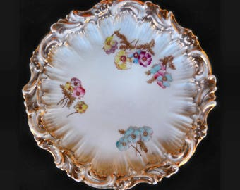 Dresden Hand Painted Porcelain Plate