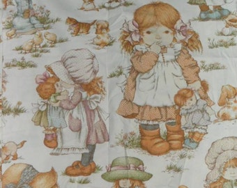 Rare Original Sarah Kay Cotton Fabric