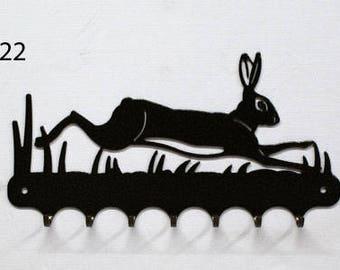 Hangs key pattern metal: Hare