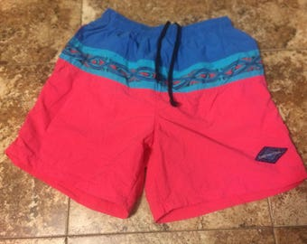 Vtg 80s/90s GOTCHA 32 Swim Trunks