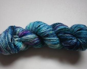 Aran - 100% British Bluefaced Leicester (superwash) yarn - beyond the reef