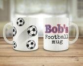 Football mug, Dad's F...