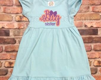 Big Sister Dress, Big Sister Outfit, Big Sister T-Shirt,  Big Sister Gift