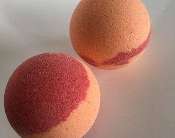 Blood orange and Goji - Bath bomb - Fizzy - Bath time fun - Me time - Bath