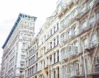 Soho art, New York City photo, Soho building, NYC art, travel photo, NYC architecture, urban art, architectural photo, urban decor, wall art