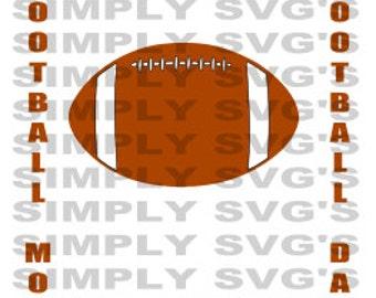 Football Mom SVG, Football Dad SVG