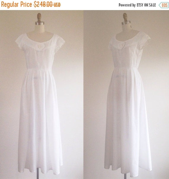 On sale white wedding dress simple wedding dress by for How to clean your own wedding dress