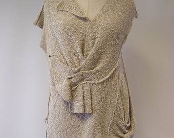 Special price. Summer boucle blouse, L size. Perfect for Summer.