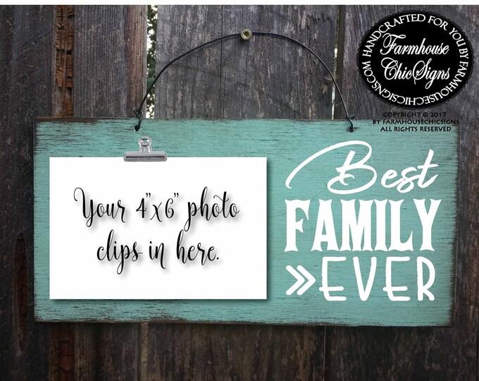 family, family sign, family gift, gift for family, Christmas gift for family, family picture, family picture frame, best family ever