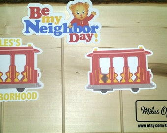 Daniel Tigers Neighborhood Character on a Stick