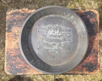 Vintage Pie Pan, Mrs. Robinson pie tin