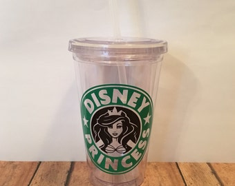 Starbucks Disney Princess Tumbler | 7 Options