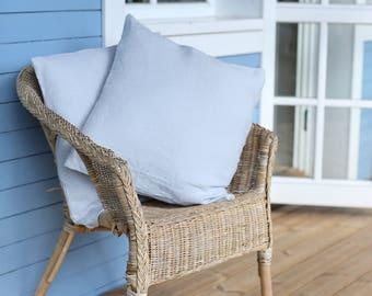 Set Of 2 Little Pillowcases   Home Decor   Sofa Pillowcases   Linen decorative pillow cover   Linen cushion cover   Decorative pillow cover
