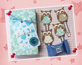 "Gift set Matchbox love ""OWL"""