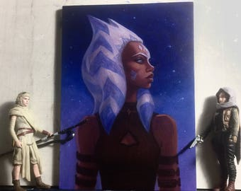 Ahsoka ORIGINAL Painting