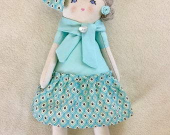Soft cloth doll doll doll rag doll rag doll cloth doll