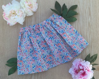 Floral cotton skirt size 3T