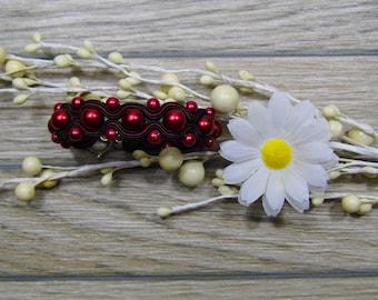 bracelet  / soutache technique / handmade (nr377)
