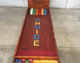 Vintage Over & Under Carnival Game (VB8K13)