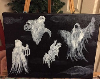 Ghostly haunt
