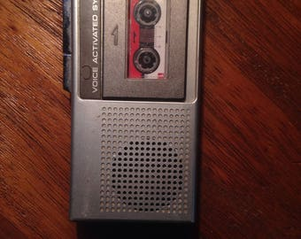 Panasonic Voice Activated Microcassette Portable Player Recording System