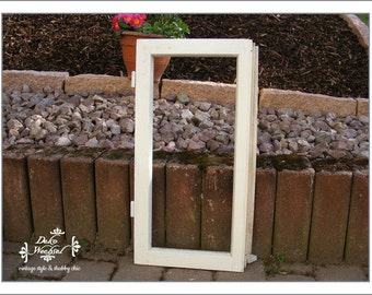 antique french white window wing