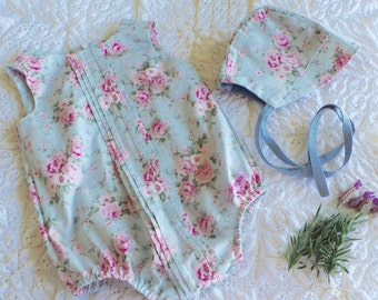 Spring Blooms Pleatie Playsuit