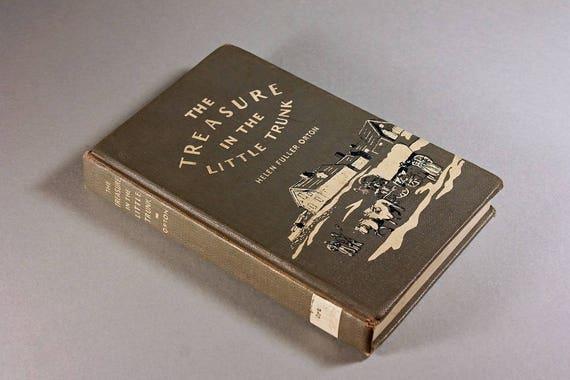 1959 Hardcover Book, The Treasure in the Little Trunk, Helen Fuller Orton, No Dust Jacket, Children's Fiction