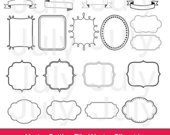 Frame Clip Art, Frames ClipArt, Wedding Clipart, Banner Clipart, Banner Digital, Banner svg, Framessvg, Arrow svg