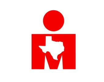 Texas Ironman M-Dot Decal