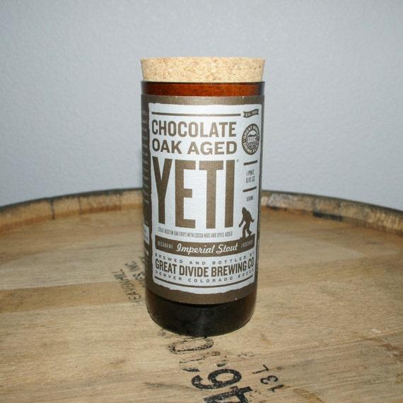 UPcycled Stash Jar - Great Divide - Chocolate Oak Aged Yeti